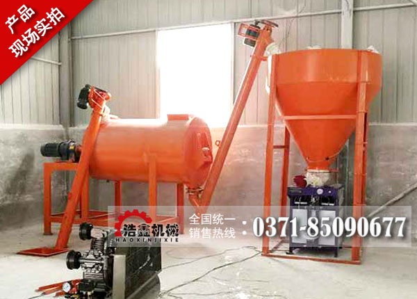 简易型干粉砂浆设备