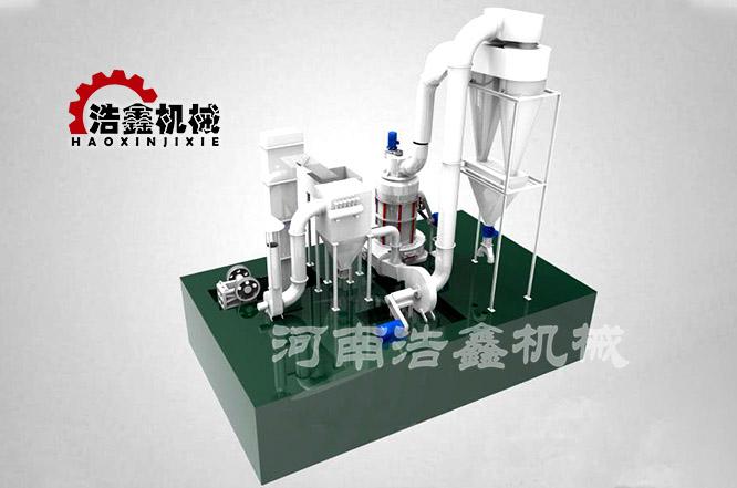 重钙粉磨粉机工作原理