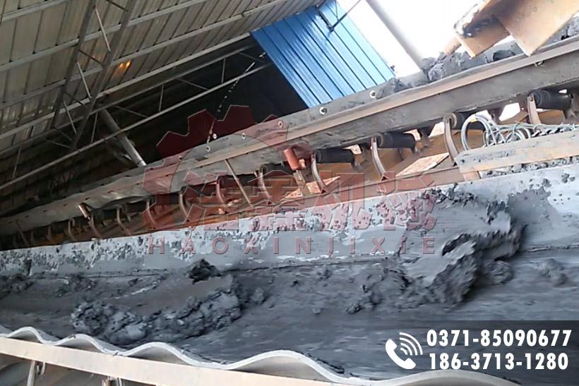 安徽淮南2.4X25m煤泥烘干現場2套