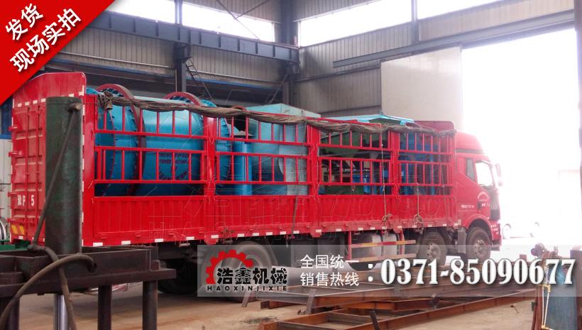 河南浩鑫機械三回程河沙烘干機